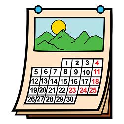 Calendario Dibujo Septiembre.Calendario Escolar 2019 2020 Cei Minerva Paterna