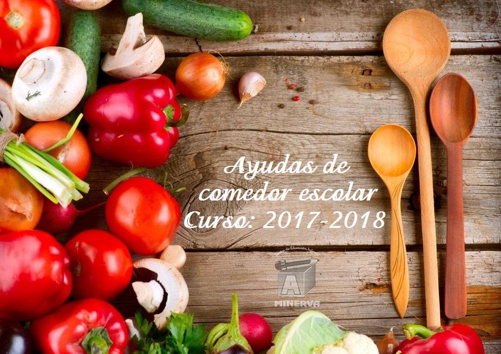 Ayudas de comedor escolar 2017 2018 cei minerva paterna for Ayudas para comedor escolar